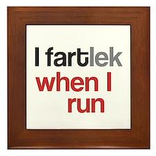 Funny I FARTlek © Framed Tile