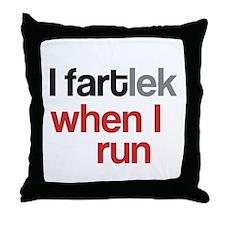 Funny I FARTlek © Throw Pillow