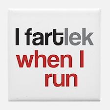 Funny I FARTlek © Tile Coaster