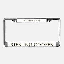 Mad Men Sterling Coooper License Plate Frame