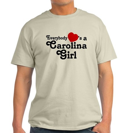 Everybody Hearts a Carolina G Light T-Shirt