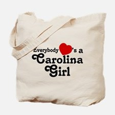Everybody Hearts a Carolina G Tote Bag