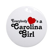 Everybody Hearts a Carolina G Ornament (Round)