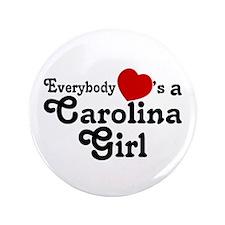 "Everybody Hearts a Carolina G 3.5"" Button"