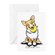 Corgi n Duck Greeting Card