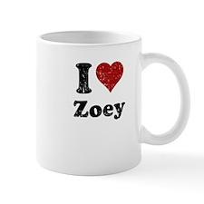 I heart Zoey Mug