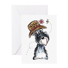 Grandma Schnauzer Greeting Card