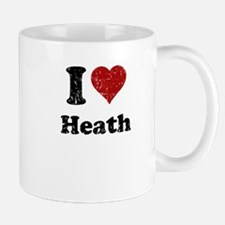 I heart heath Mug