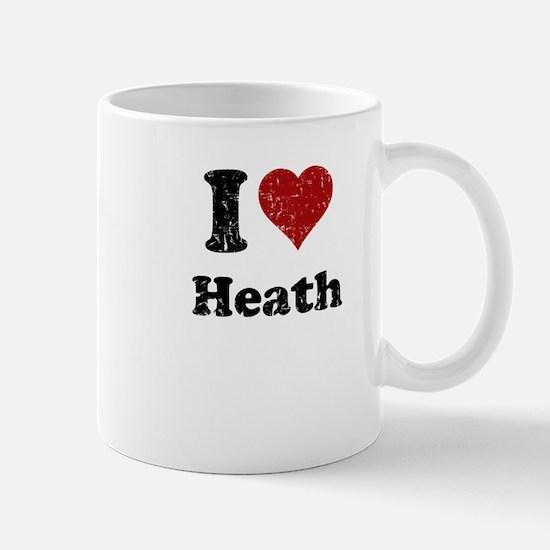 I heart heath Mug