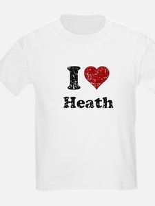 I heart heath T-Shirt
