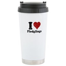 I heart Fledglings Travel Mug