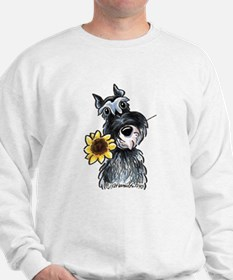 Sunflower Schnauzer Sweater
