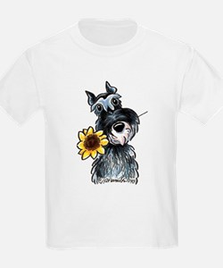 Sunflower Schnauzer T-Shirt