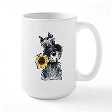 Sunflower Schnauzer Mug