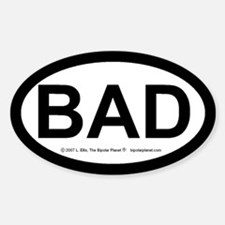 BAD Decal
