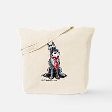 Schnauzer Dad Tote Bag