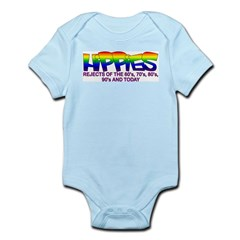 Anti Liberal Hippies Infant Creeper
