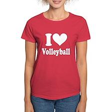 I Heart Volleyball: Tee