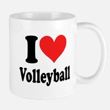 I Heart Volleyball: Mug