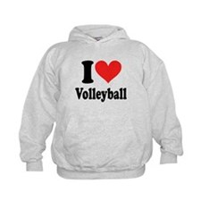 I Heart Volleyball: Hoodie