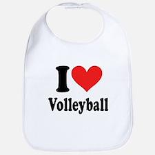I Heart Volleyball: Bib