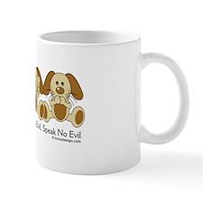 See No Evil Puppy Dogs Mug