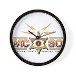MCSO Radio Posse Wall Clock