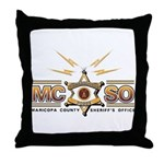 MCSO Radio Posse Throw Pillow