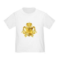 Gold Belarus Toddler T-Shirt