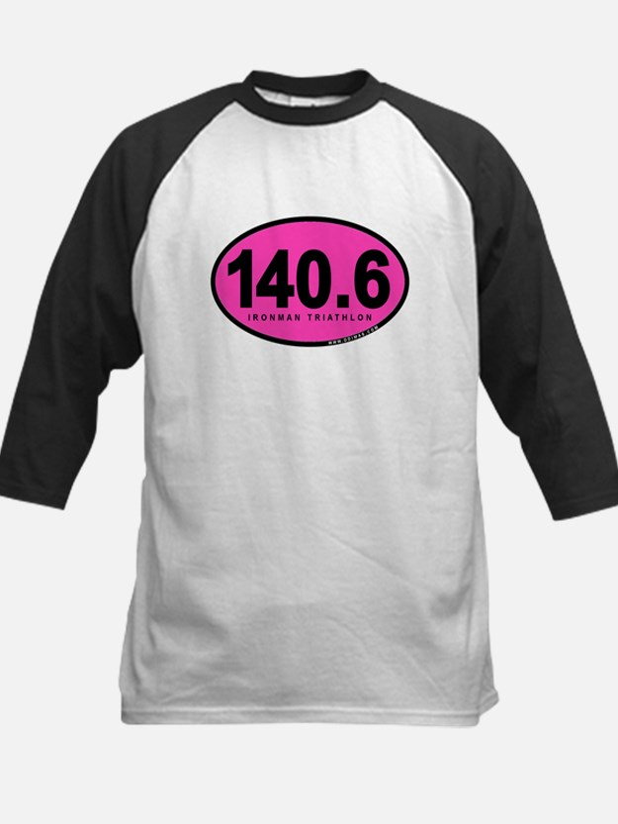 140.6 Ironman Triathlon Kids Baseball Jersey