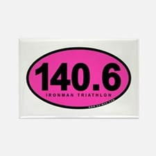 140.6 Ironman Triathlon Rectangle Magnet (10 pack)