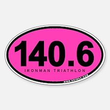 140.6 Ironman Triathlon Decal