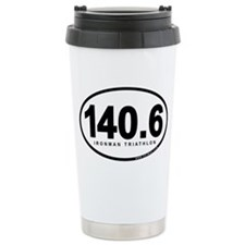 140.6 Ironman Triathlon Travel Mug