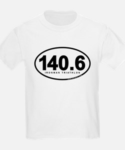 140.6 Ironman Triathlon T-Shirt