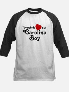 Everybody Hearts a Carolina B Kids Baseball Jersey