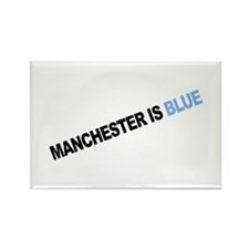 Is Blue.... Rectangle Magnet