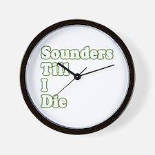 ..'Till I Die Wall Clock