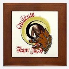 Quileute Team Jacob Framed Tile