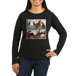 Rumors Women's Long Sleeve Dark T-Shirt