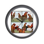 Rumors Wall Clock