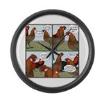 Rumors Large Wall Clock