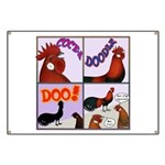 Cocka-Doodle-Doo Banner