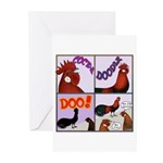 Cocka-Doodle-Doo Greeting Cards (Pk of 10)