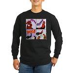 Cocka-Doodle-Doo Long Sleeve Dark T-Shirt