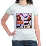 Cocka-Doodle-Doo Jr. Ringer T-Shirt