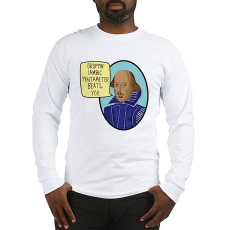 Iambic Beats Long Sleeve T-Shirt