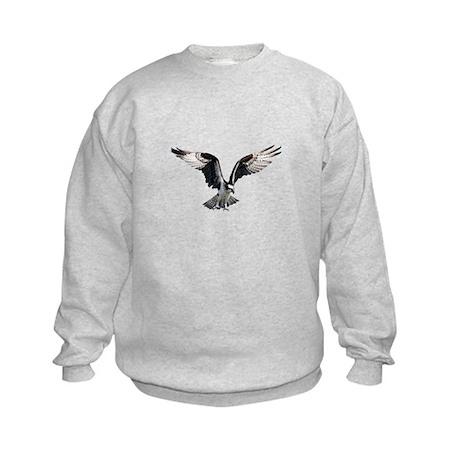 Osprey in Flight Kids Sweatshirt