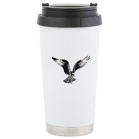 Osprey in Flight Stainless Steel Travel Mug