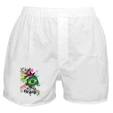 Flower Brazil Boxer Shorts