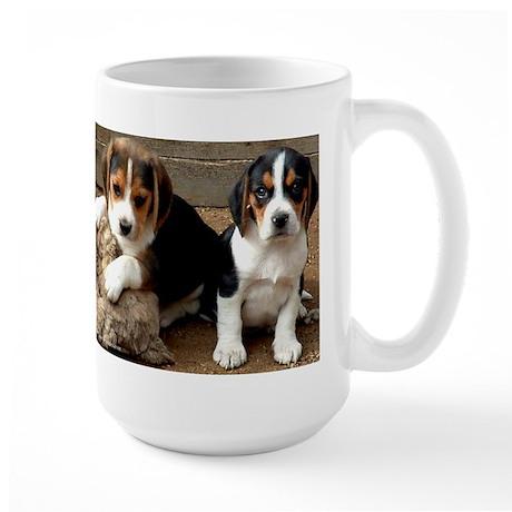 Beagle Pair Large Mug